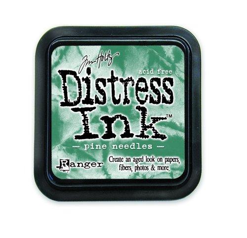Tinta Distress Tim Holtz Pine Needles.