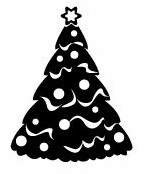 Modelo 1 Sello Pinito Navidad