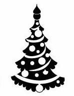 Modelo 9 Sello Pinito Navidad