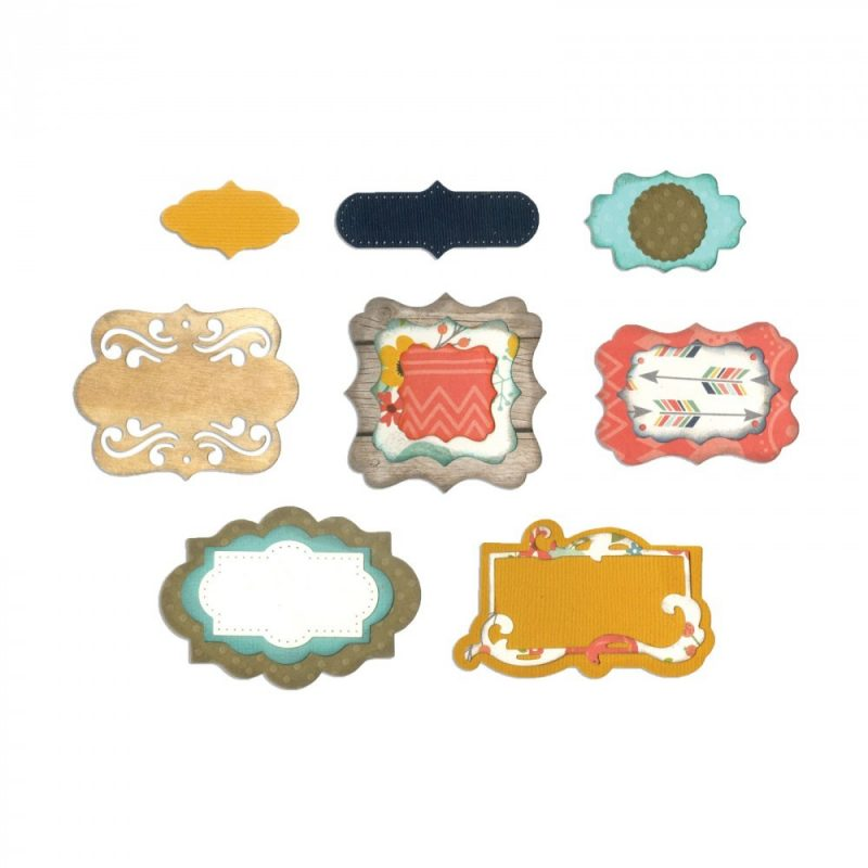 Thinlits Delicated Labels Sizzix