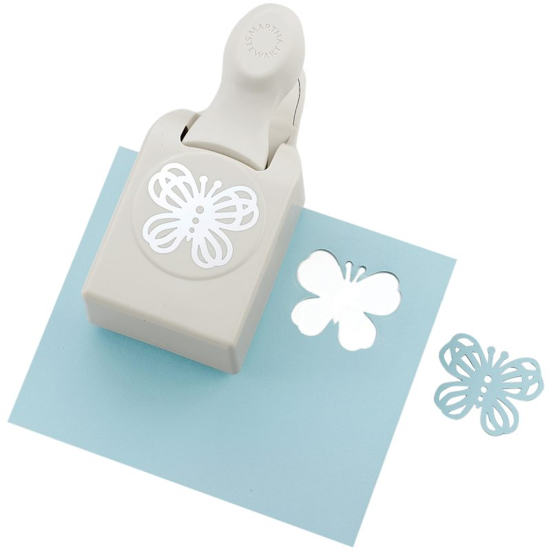 Martha Stewart Large Double Craft Punch - Butterfly Lace