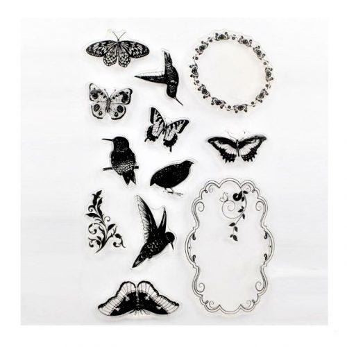 Set de Sellos Mariposas