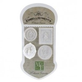 Aplicaciones Resina Cameo Assortment, Melisssa Frances.