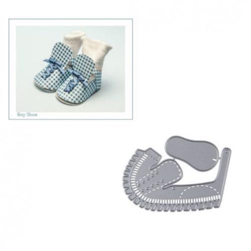 Troquel Zapato Bebe Niño