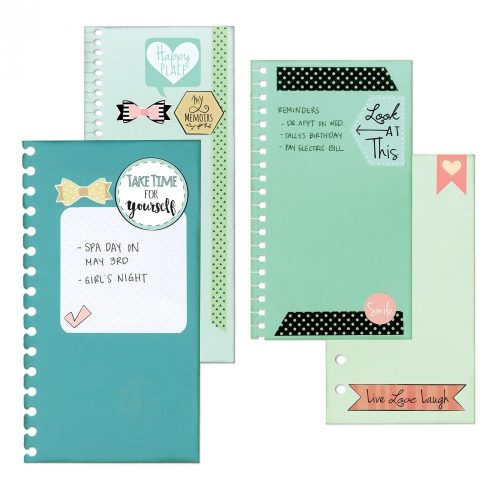 Bindables Thinlits Die Set - Planner Page - Sizzix