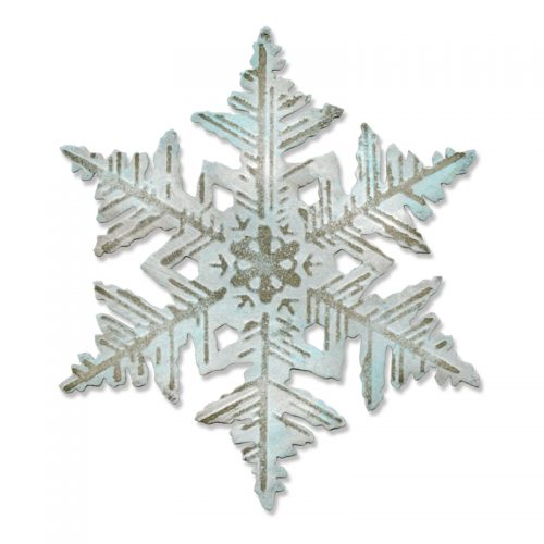 BigZ Fade Layered Snowflakes by Tim Holtz, Sizzix