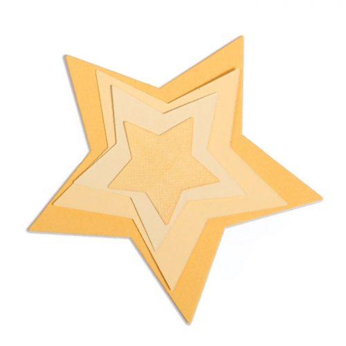 Framelits Estrellas, Sizzix.