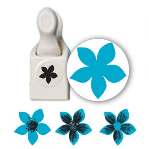 Martha Stewart Crafts Stamp And Punch Set Flower Punches