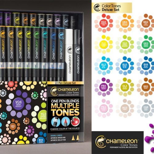 Chameleon Pens - Deluxe Set of 22 Markers