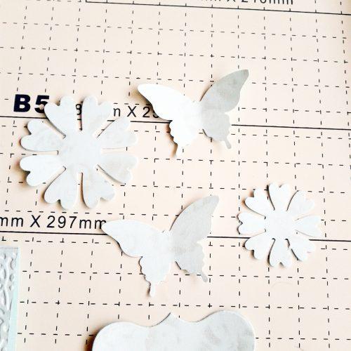 Troqueles Elegant Buttferfly and Flowers