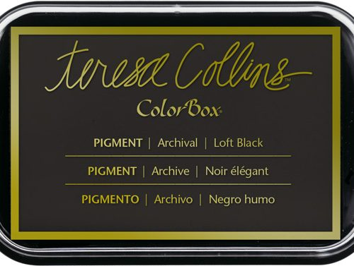 Loft Black Teresa Collins Ink Pad