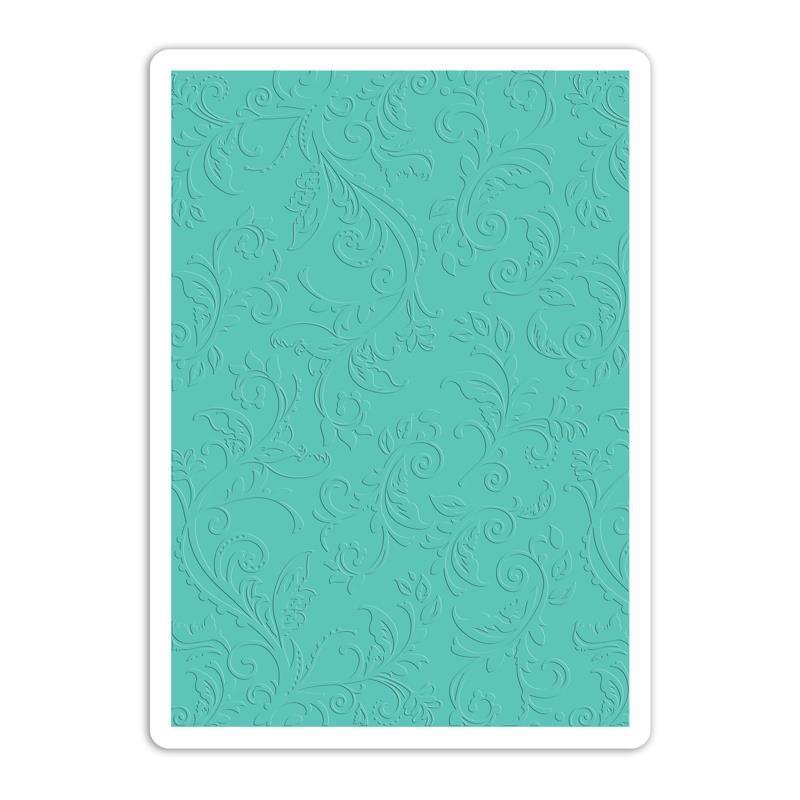 Sizzix-Textured-Impressions-Plus-Embossing-Folders-Botanical-Swirls-By-Rachael-Bright