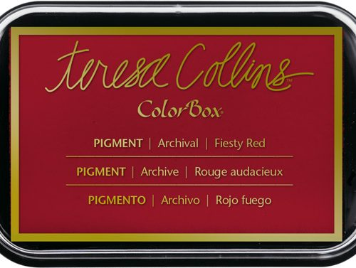 Fiesty Red Teresa Collins Ink Pad