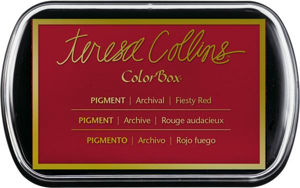 Fiesty Red Teresa Collins Ink Pad