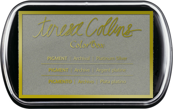 Platinum Silver Teresa Collins Ink Pad