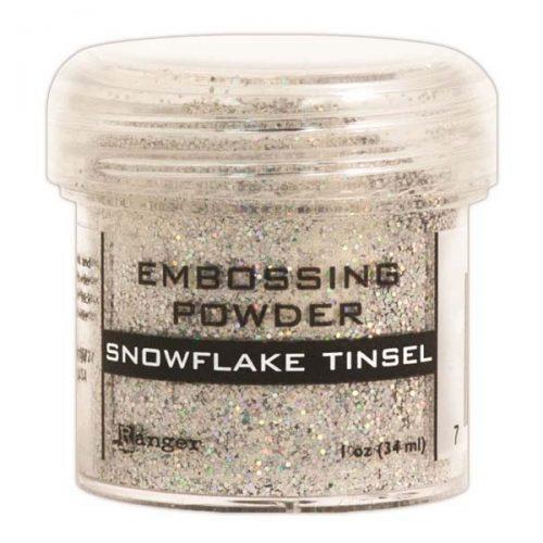 Polvo de Embos Snowflake Tinsel