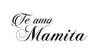 Sello Te Amo Mamita